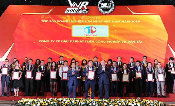 Bamboo Capital Group and Tracodi are listed in the Top 500 Largest Corporations of Vietnam in 2019 (VNR500)