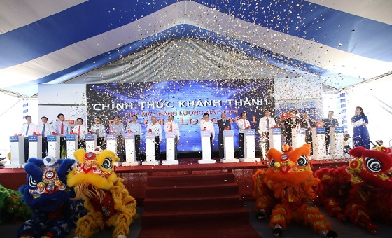 40.6MWP BCG-CME Long An 1 solar power plant grand opening ceremony